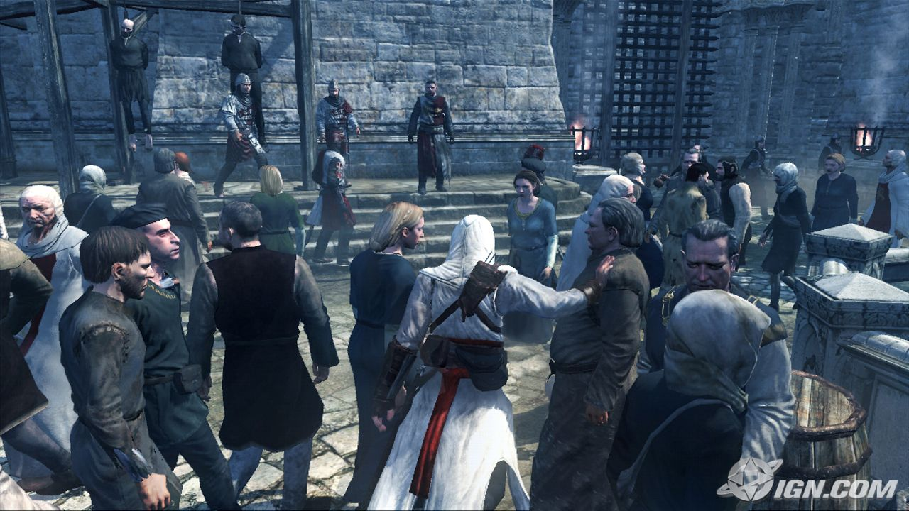 videojuego del 2008 (Assassins Creed - PS3)