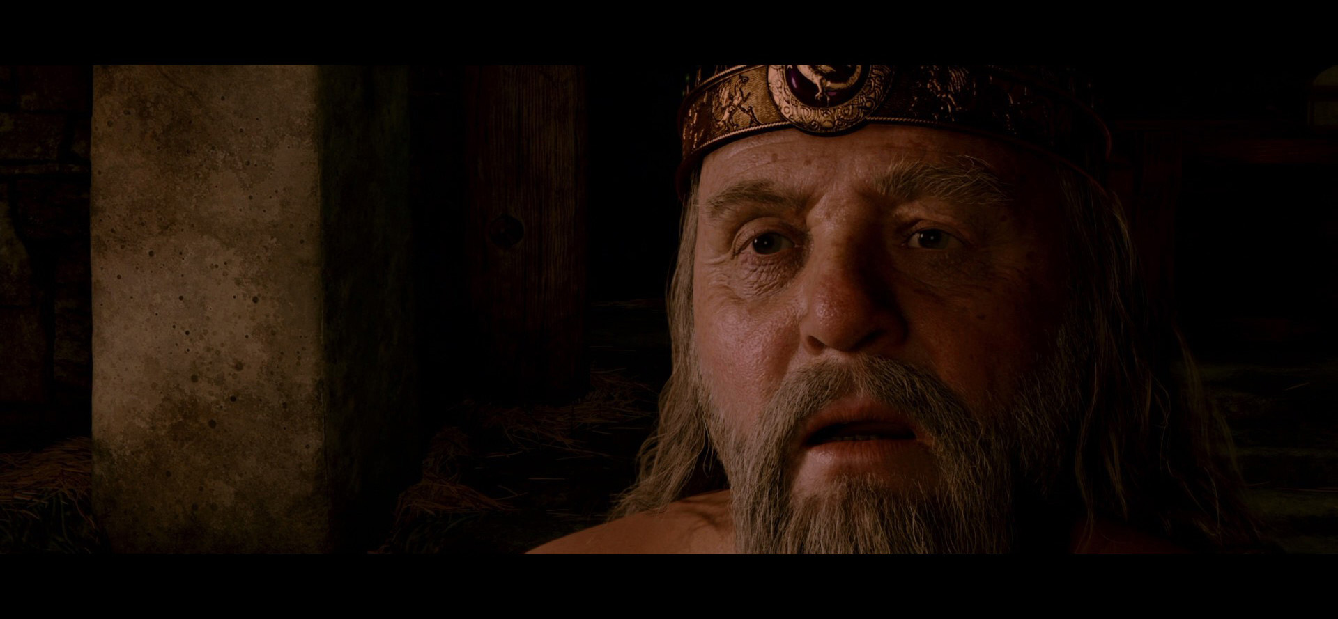 padre de Beowulf (2007) (digitalización de Anthony Hopkins)